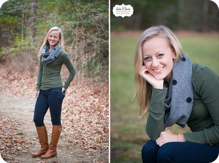 asheville high school senior portraits