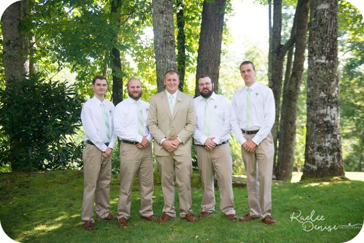 Bradley Creek Falls Wedding